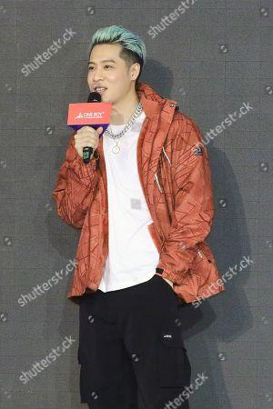 Editorial photo of Nick Chou attends a press conference, Taipei, Taiwan, China - 05 Nov 2020