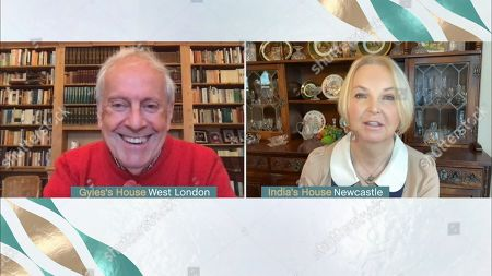 Gyles Brandreth and India Willoughby