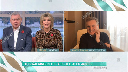 Editorial image of 'This Morning' TV Show, London, UK - 06 Nov 2020