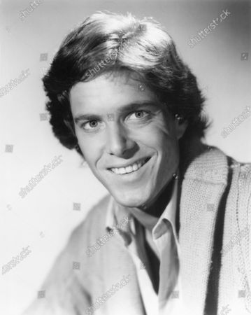 Stock Photo of American Actor Richard Bekins, Head and Shoulders Publicity Portrait, early 1980's