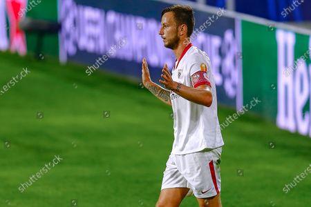 Editorial image of Sevilla FC v Krasnodar, UEFA Champions League, Group E, date 3. Football, Sanchez Pizjuan Stadium, Sevilla, Spain - 4 NOV 2020