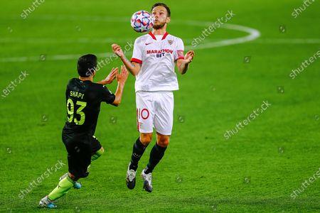 Editorial photo of Sevilla FC v Krasnodar, UEFA Champions League, Group E, date 3. Football, Sanchez Pizjuan Stadium, Sevilla, Spain - 4 NOV 2020