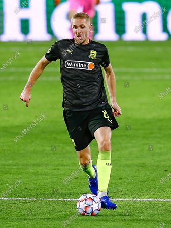 Stock Image of Yuri Gazinskiy of FC Krasnodar