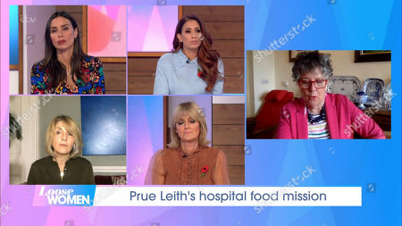 Christine Lampard, Stacey Solomon, Kaye Adams, Jane Moore and Prue Leith