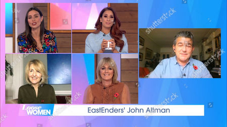 Editorial picture of 'Loose Women' TV Show, London, UK - 06 Nov 2020