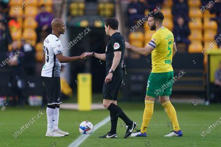 Editorial photo of Norwich City v Swansea City, EFL Sky Bet Championship, Football, Carrow Road, Norwich, UK - 7 Nov 2020
