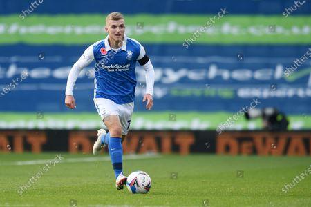 Riley McGree of Birmingham City.