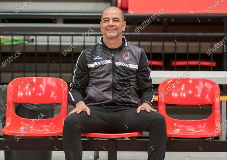 Former Argentina's national team head coach Sergio Hernandez during his presentation as Casademont Zaragoza's basketball club new coach, in Zaragoza, northeastern Spain, 06 November 2020. Hernandez has signed until the end of the season with one option to extend until 2022.
