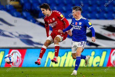 Editorial photo of Cardiff City v Bristol City, UK - 06 Nov 2020