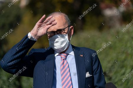 Director of the National Economic Council Larry Kudlow speaks to the media at the White House in Washington, DC, USA, 06 November 2020.