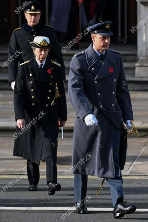 Princess Anne and Prince William