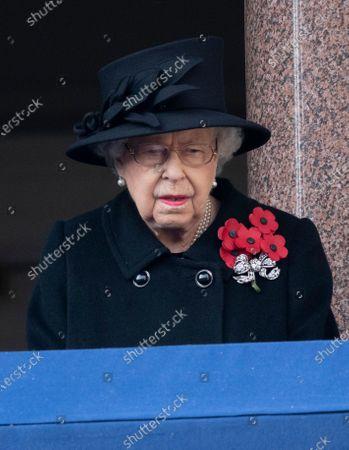 Editorial image of Remembrance Sunday Service, London, UK - 08 Nov 2020