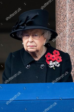 Editorial photo of Remembrance Sunday Service, London, UK - 08 Nov 2020