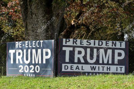 Editorial photo of Election 2020 Georgia, Rock Spring, United States - 06 Nov 2020