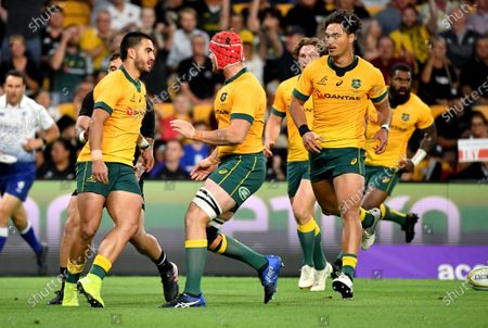 Editorial photo of Wallabies vs All Blacks, Brisbane, Australia - 07 Nov 2020