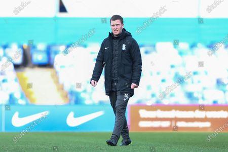 Craig Gardener of the coaching staff at Birmingham City