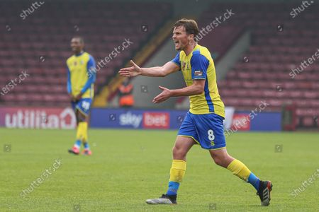 Editorial image of Scunthorpe United v Solihull Moors FC, Emirates FA Cup First ROund, Football, The Sands Venue Stadium, Scunthorpe, UK - 08 Nov 2020