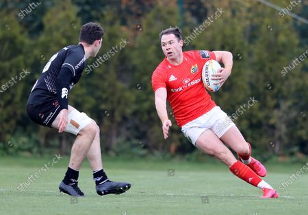 Munster's Sean French makes a break