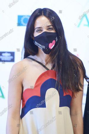 Actress Macarena Garcia