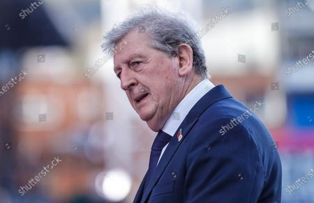 Crystal Palace Manager  Roy Hodgson   during the Premier League match between Crystal Palace and Leeds United at Selhurst Park, London