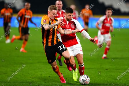 Editorial photo of Hull City v Fleetwood Town, The FA Cup - 07 Nov 2020