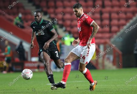 Editorial image of Charlton Athletic vs Plymouth Argyle, Emirates FA Cup, Football, The Valley, London, Greater London, United Kingdom - 07 Nov 2020