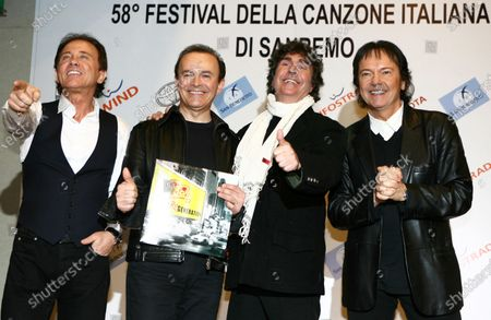 Editorial image of Stefano D'Orazio, drummer of the Pooh, dies at 72, Rome, Italy - 07 Nov 2020