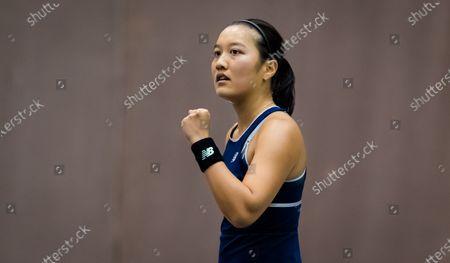 Editorial photo of Upper Austria Ladies Linz Open Qualification, WTA Tennis, Linz Austria, 07 Nov 2020