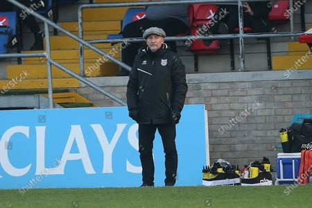Grimsby Town manager Ian Holloway during Dagenham & Redbridge vs Grimsby Town, Emirates FA Cup Football at the Chigwell Construction Stadium on 7th November 2020