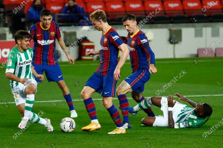 Editorial image of Soccer La Liga, Barcelona, Spain - 07 Nov 2020
