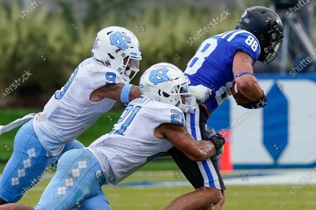 Editorial photo of North Carolina Duke Football, Durham, United States - 07 Nov 2020