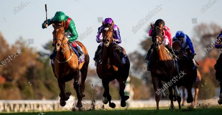 , 2020, Lexington, Kentucky, USA: Tarnawa, ridden by Colin Keane, wins the Longines Turf on Breeders†Cup Championship Saturday at Keeneland Race Course in Lexington, Kentucky on , 2020. Alex Evers/Breeders†Cup/Eclipse Sportswire/CSM