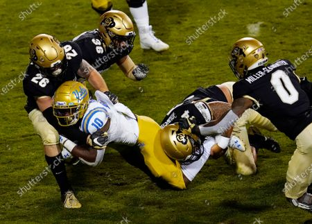 Editorial photo of UCLA Colorado Football, Boulder, United States - 07 Nov 2020