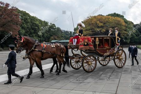 Editorial image of Japan proclaims crown Prince Akishino first in line to the Imperial Throne, Tokyo - 08 Nov 2020