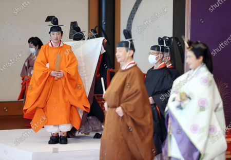 Editorial photo of Japan proclaims crown Prince Akishino first in line to the Imperial Throne, Tokyo - 08 Nov 2020