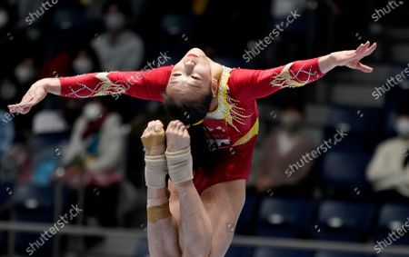 Editorial image of Gymanstics Friendship and Solidarity Competition in Tokyo, Japan - 08 Nov 2020