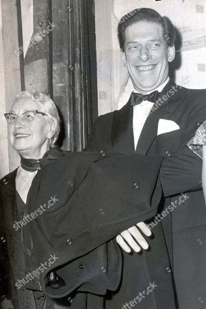 7th Earl Of Harewood And Mrs Stein Pictured At Covent Garden Opera House For Tosca.