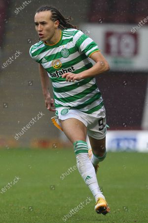 Diego Laxalt (Celtic) during the Scottish Premiership match between Motherwell and Celtic at Fir Park, Motherwell