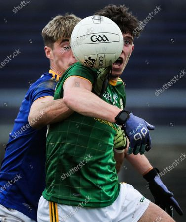 Wicklow vs Meath. Meath's Jason Scully and Patrick O'Kane of Wicklow