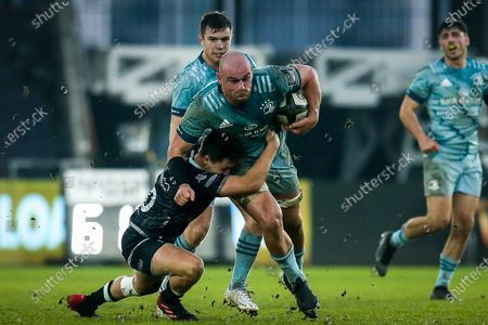 Editorial picture of Guinness PRO14, Liberty Stadium, Swansea, Wales - 08 Nov 2020