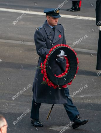 Members of the royal family, The Prime Minister and a selected group of veterans In line with the latest expert medical and scientific advice, the National Service of Remembrance at the Cenotaph took place as a private event in order to protect veterans and members of the public.Picture: Arthur Edwards