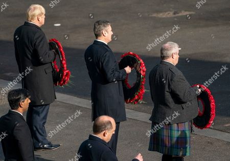 Editorial picture of Remembrance Sunday Service, London, UK - 08 Nov 2020