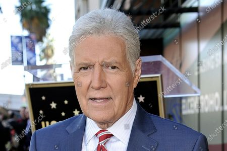 """Jeopardy!"""" host Alex Trebek died Sunday, Nov. 8, 2020, after battling pancreatic cancer for nearly two years. Trebek died at home with family and friends surrounding him, """"Jeopardy!"""" studio Sony said in a statement. Trebek presided over the beloved quiz show for more than 30 years"""