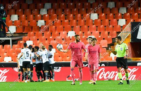 Editorial photo of Soccer: La Liga - Valencia v Real Madrid, Spain - 08 Nov 2020