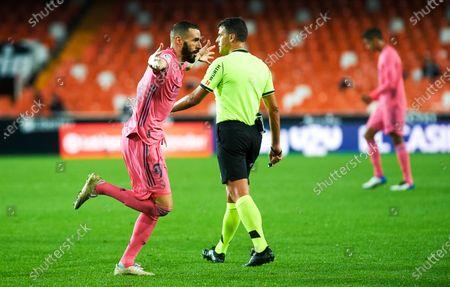 Editorial picture of Soccer: La Liga - Valencia v Real Madrid, Spain - 08 Nov 2020