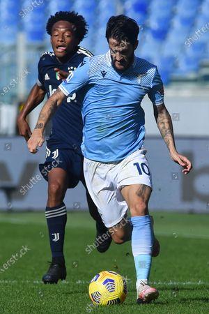 Luis Alberto of Lazio, Juan Cuadrado of Juventus