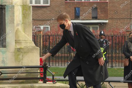 Editorial picture of Remembrance Day, London, UK - 08 Nov 2020