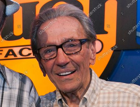 Norm Crosby poses for a photo while expressing support for Jerry Lewis to be reinstated as host of the annual MDA Telethon, at the Laugh Factory in Los Angeles. Crosby, the deadpan mangler of the English language who thrived in the 1960s, '70s and '80s as a television, nightclub and casino comedian, has died. He was 93. Crosby's daughter-in-law, Maggie Crosby, told the New York Times that the comic died of heart failure in Los Angeles