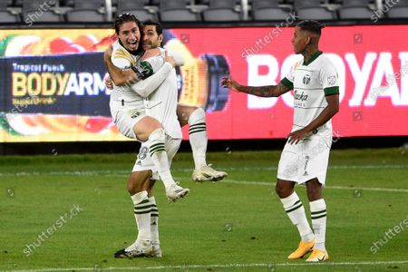 Editorial picture of MLS Timbers LAFC Soccer, Los Angeles, United States - 08 Nov 2020