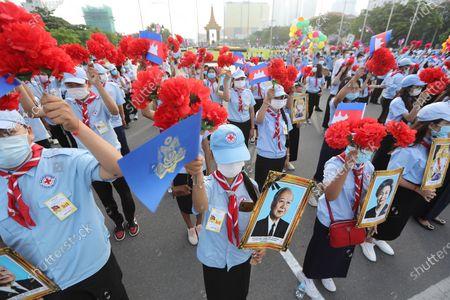 Editorial photo of Independence Day celebrations in Cambodia, Phnom Penh - 09 Nov 2020